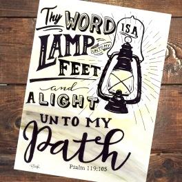 Psalm 119:105