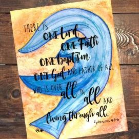 Ephesians 4:5-6