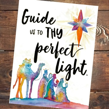 Guide us to the Perfect Light