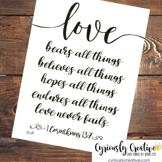 Love - Wedding Print