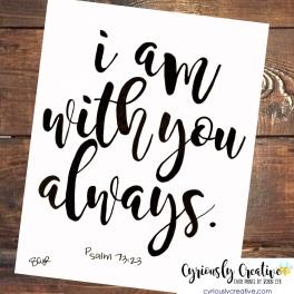 Psalm 73:23