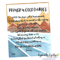 Prayer of Good Courage