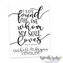 Song of Solomon 3:4 (personalized)